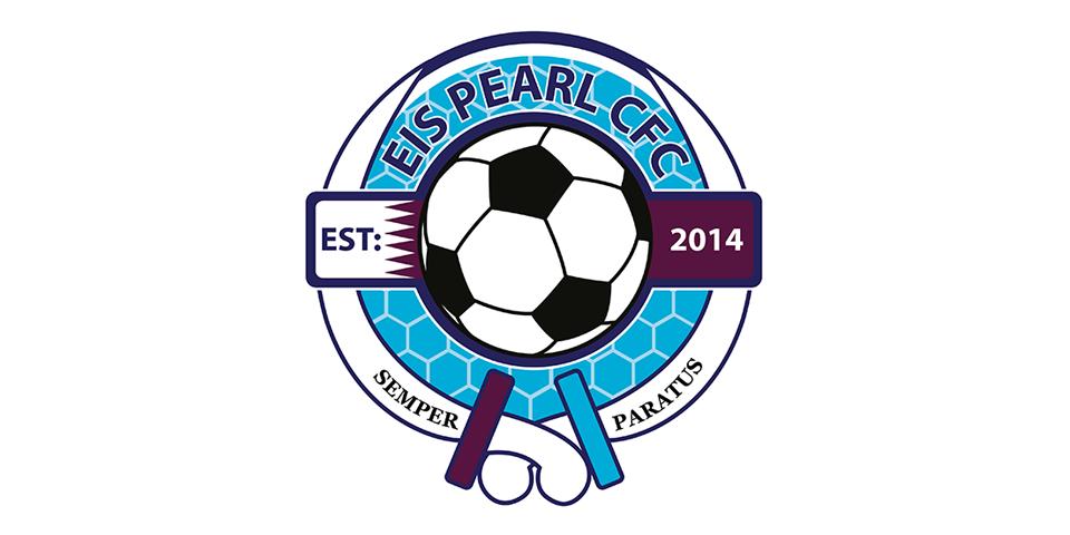 EIS Pearl Football Crest Qatar