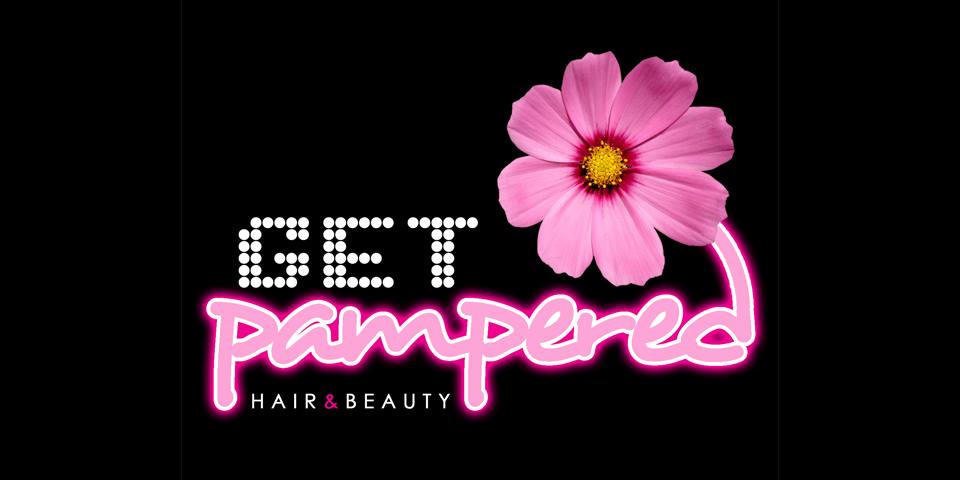 Get Pampered logo design