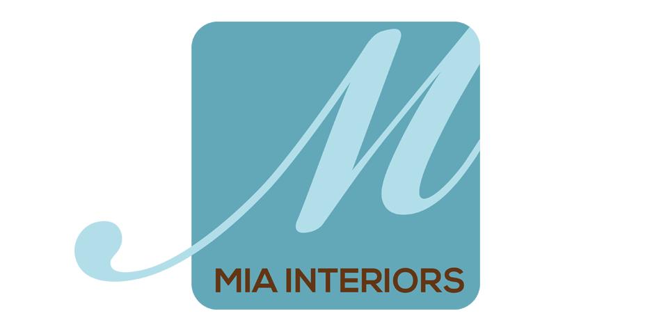 Mia Interiors Logo Design