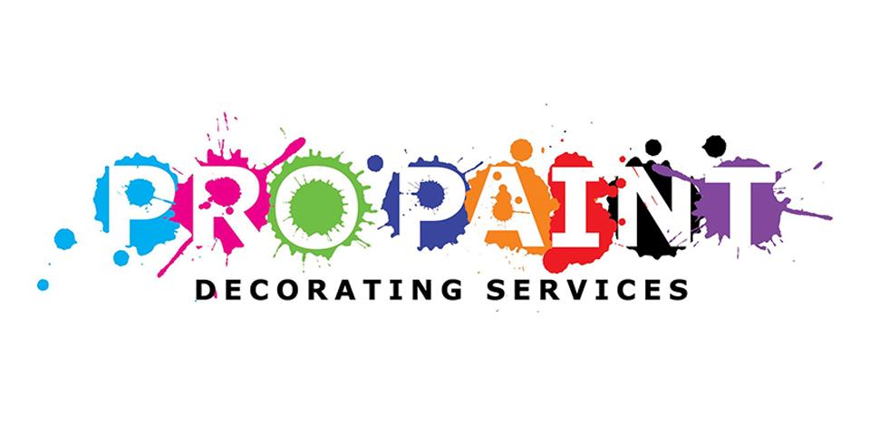 Pro Paint Logo Design