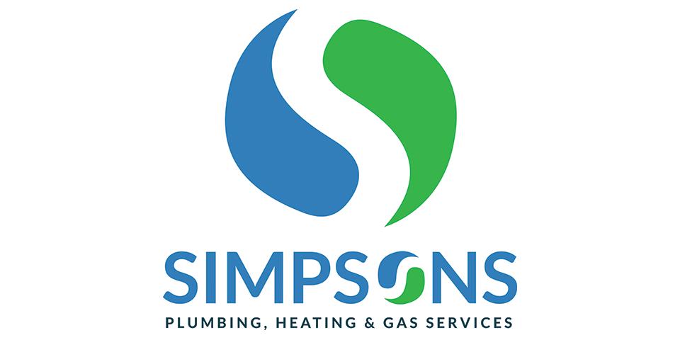 Simpsons logo design