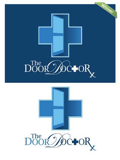Design Crowd Winner. The Door Doctor