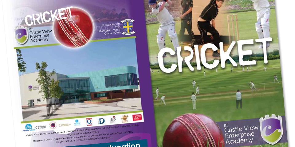 Graphic brochure design cover
